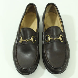 Vintage Authentic Gucci Horsebit Loafers Slip On